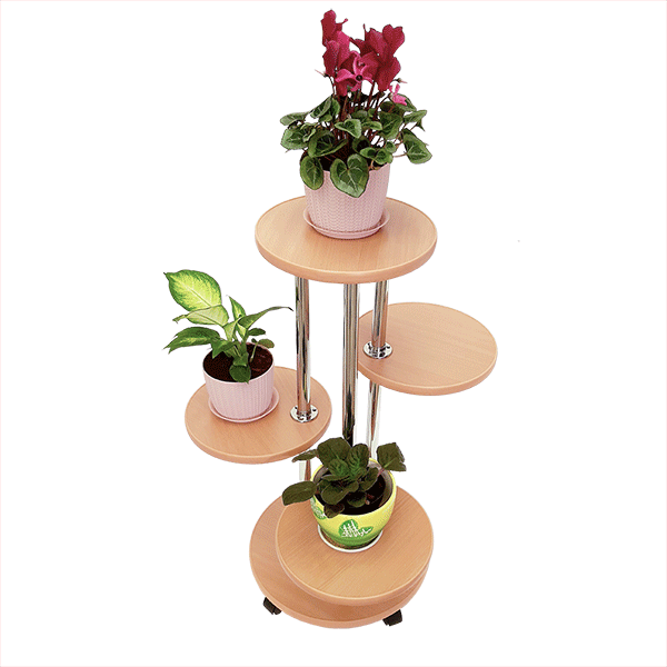 Напольная подставка для цветов «Флора-2» цвет бук