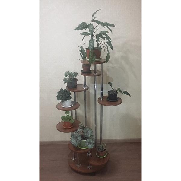Напольная подставка под цветы «Каскад-9»
