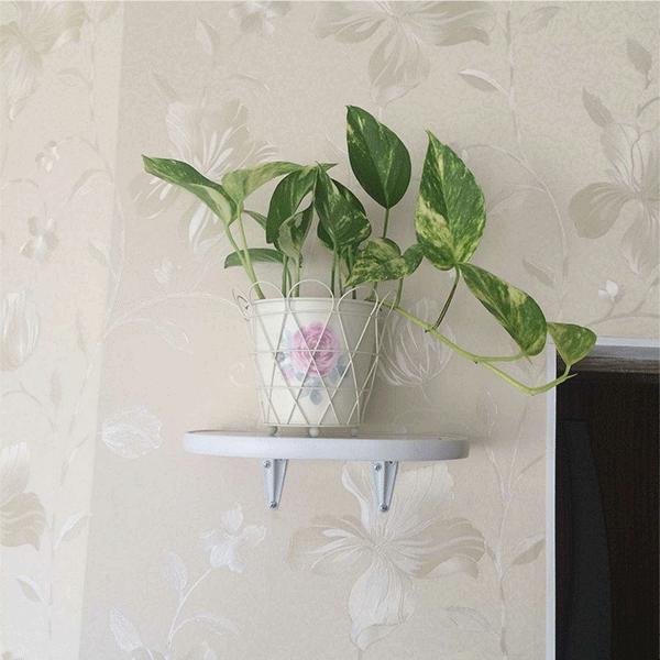 Полка под цветы на стену «Ступенька»