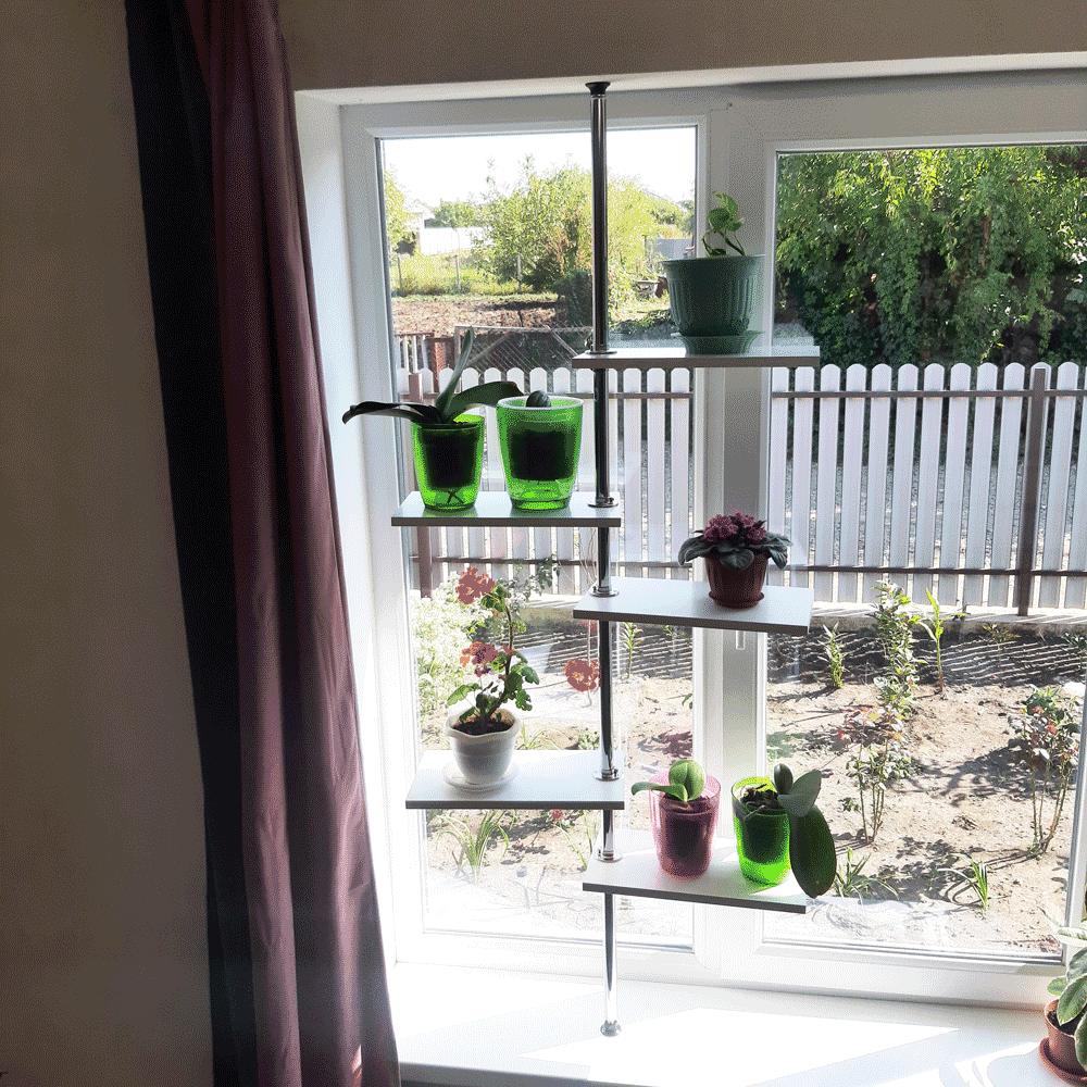 Стойка под цветы на окно «Камелия»